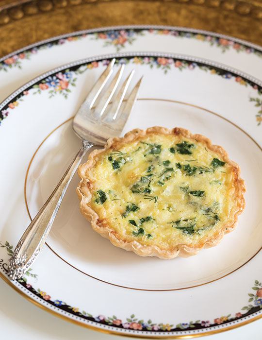 Fresh Herb Quiches