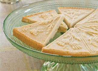 Lemon-Vanilla Shortbread