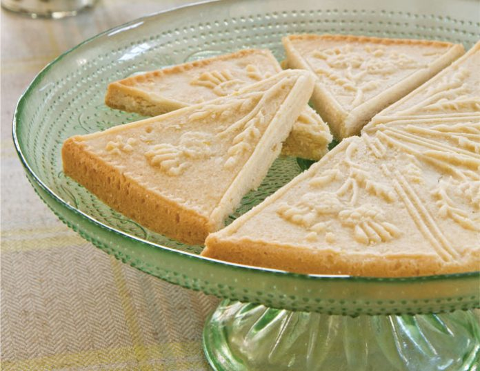 Lemon-Vanilla Shortbread - TeaTime Magazine