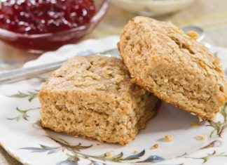 Oat & Wheat Scones