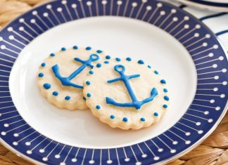 Vanilla Anchor Cookies