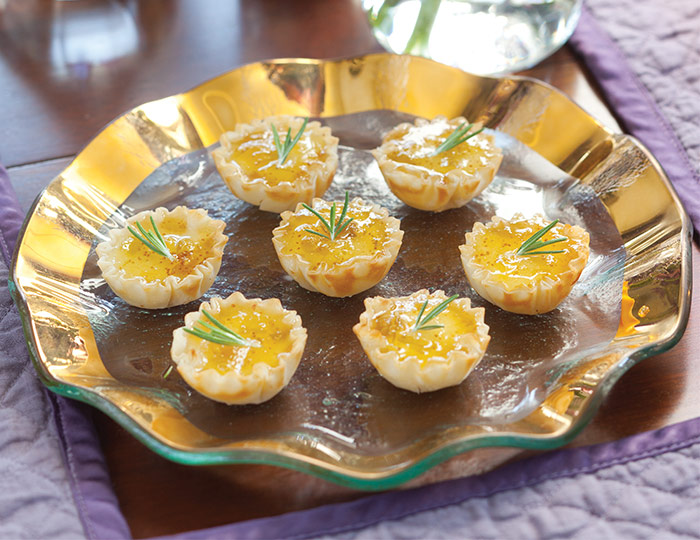 TeaTime Shades of Autumn Fig Phyllo Cups