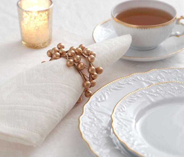 Holiday Tea Napkins