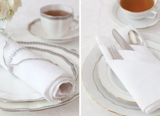 Holiday Tea Napkins