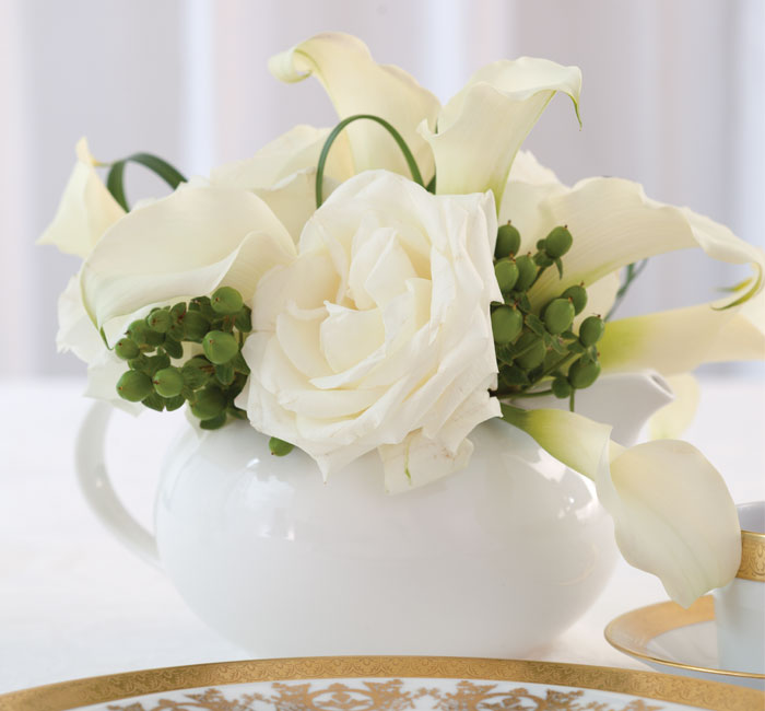 TeaTime Holiday Centerpieces