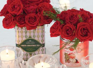 TeaTime Holiday Guide Centerpieces