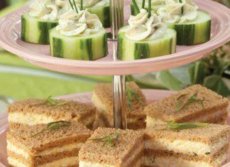 Tarragon-Egg Salad Finger Sandwiches