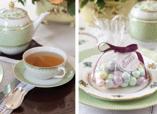 A Delightful Easter tea