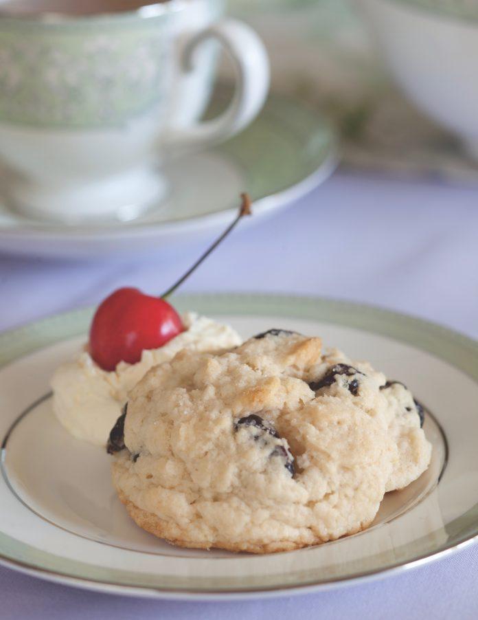 Dried-Cherry Scones - TeaTime Magazine