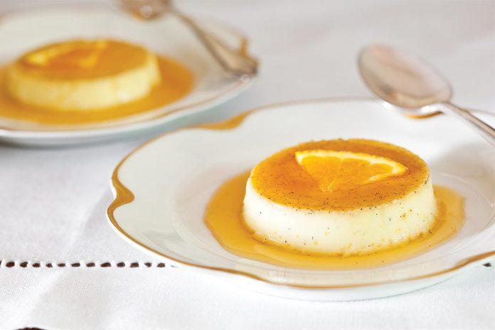 Orange-Vanilla Bean Flan