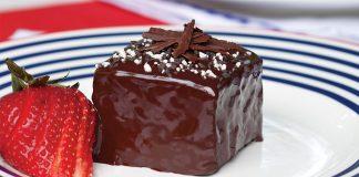 Earl Grey–Chocolate Cakes