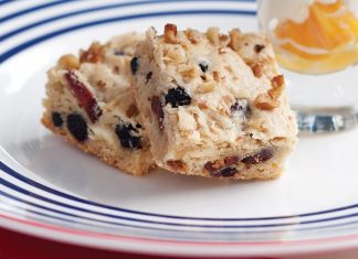 Red, White, and Blue Blondies