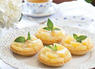 Pineapple-Coconut Tartlets