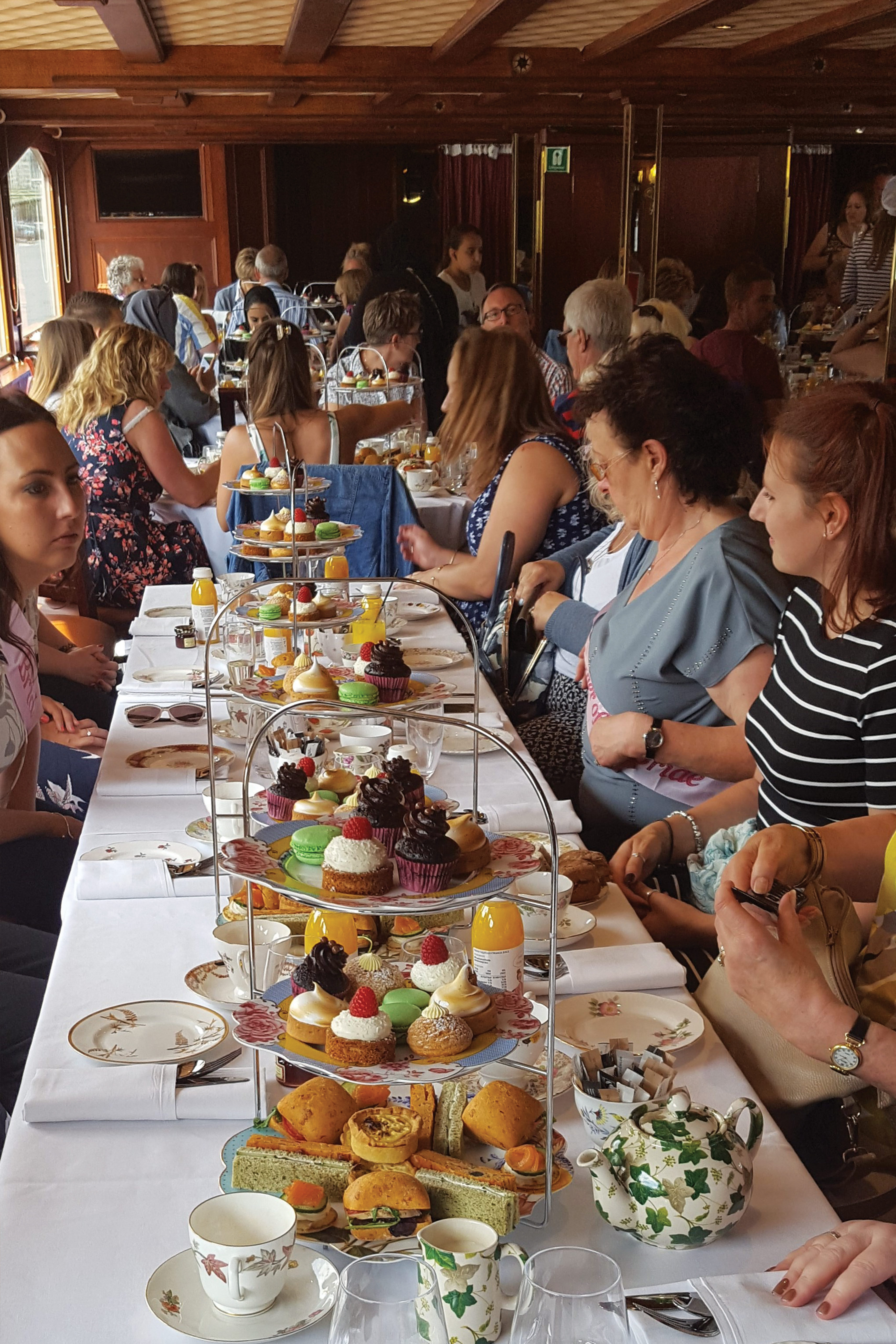 Afternoon Tea on the Move