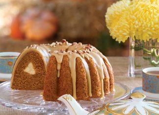 Pumpkin-Chai Bundt Cake