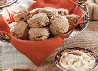 Cranberry-Spice Scones