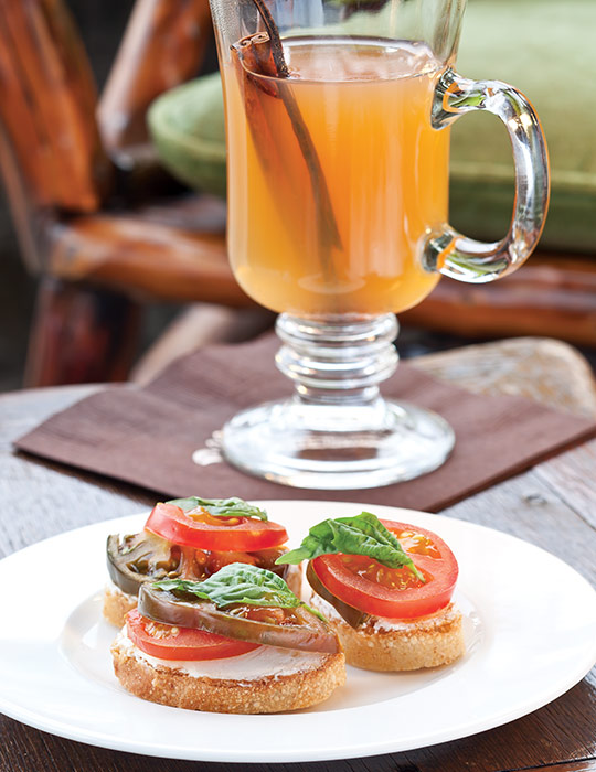 Heirloom-Tomato Crostini