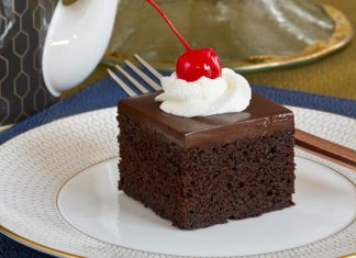 """""""Devil in Disguise"""" Chocolate Cake"""