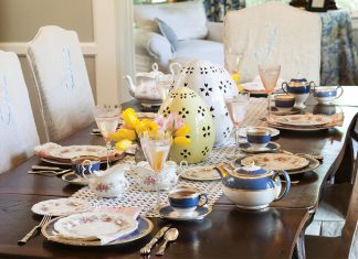 A Simply Splendid Easter Tea