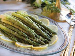 Lemon-Scented Steamed Asparagus