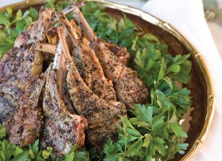 Garlic-and-Herb Grilled Lamb Chops - TeaTime Magazine