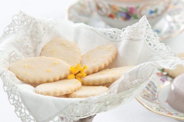 Glazed Lemon Cookies