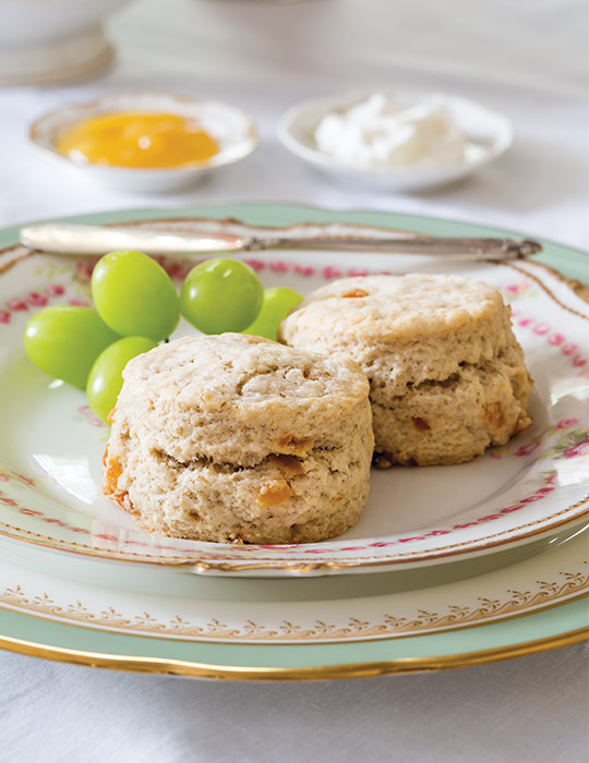 Spiced Apricot Scones