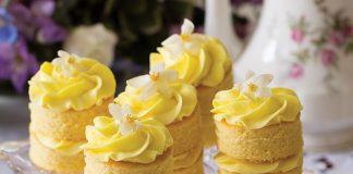 Lemon-GingerCake Stacks