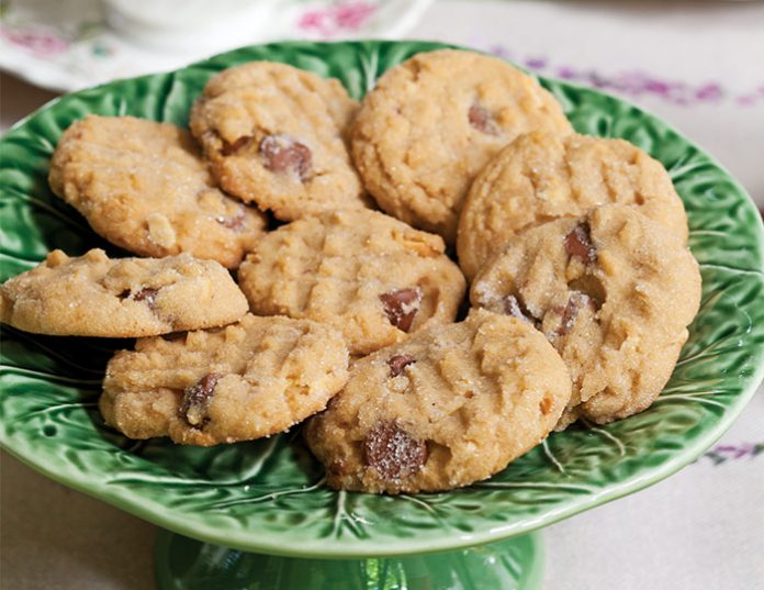 Peanut Butter–Chocolate Chip Cookies