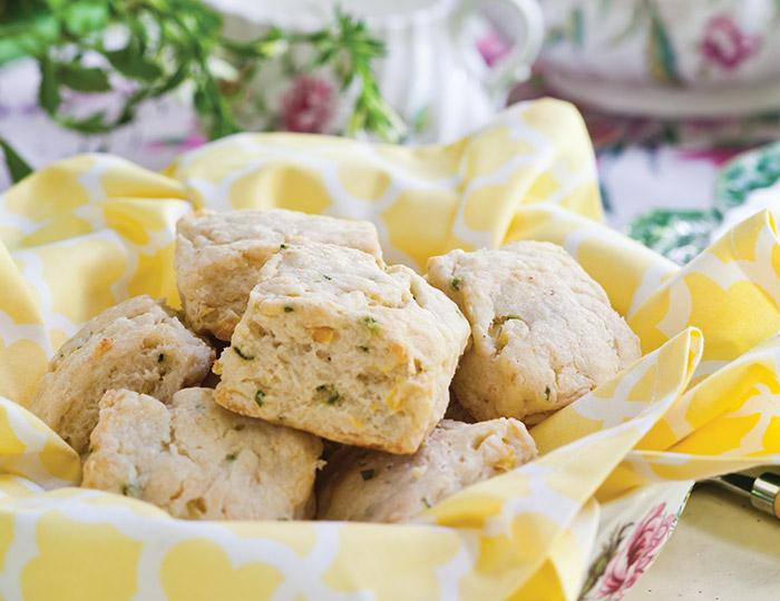 Corn, Goat Cheese& Chive Scones favorite summer scones
