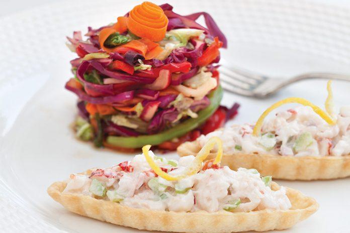 Lobster Salad Banquettes