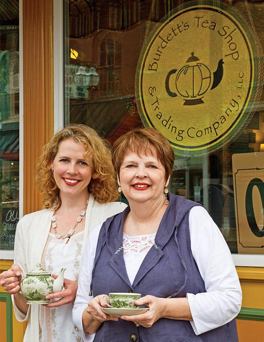 Burdett's Tea Shop