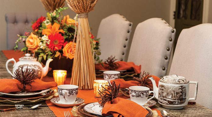 A Tranquil Thanksgiving Tea