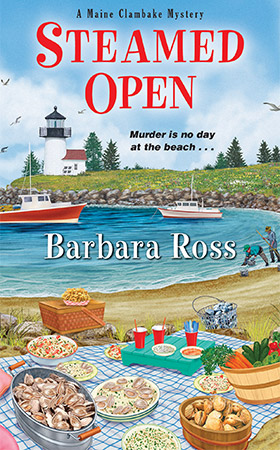 Book 2: Steamed Open by Barbara Ross