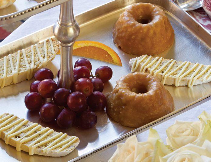 Butter Rum Cakes - TeaTime Magazine