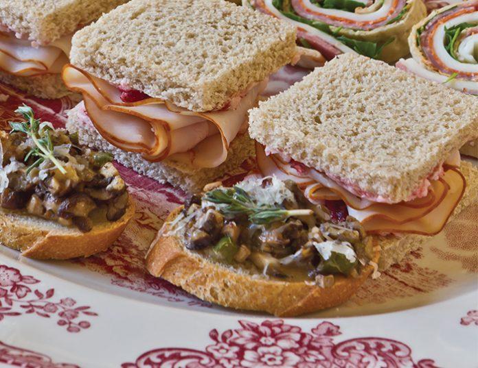 Lingonberry-Turkey Tea Sandwiches - TeaTime Magazine