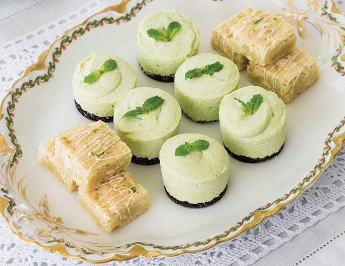 Mint & Chocolate Tartlets