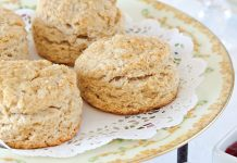 Chocolate-Strawberry Tea Scones