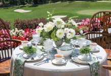Teatime for Tee Time