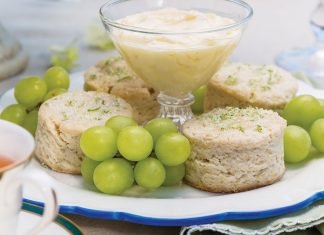 Lemon-Lime Scones - TeaTime Magazine