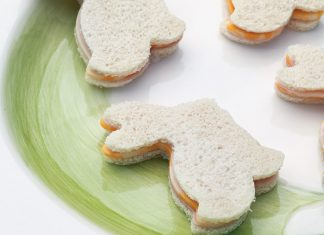 Ham and Cheese Tea Sandwiches