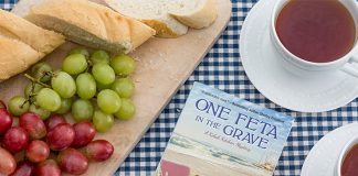 Tina Kashian's  One Feta in the Grave is a Compelling Mystery