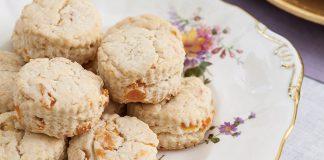 Apricot–Sour Cream Scones - TeaTime Magazine