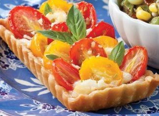Tomato-Feta Tartlets
