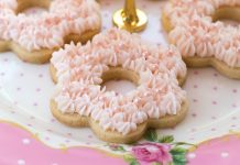 Cherry Flower Cookies