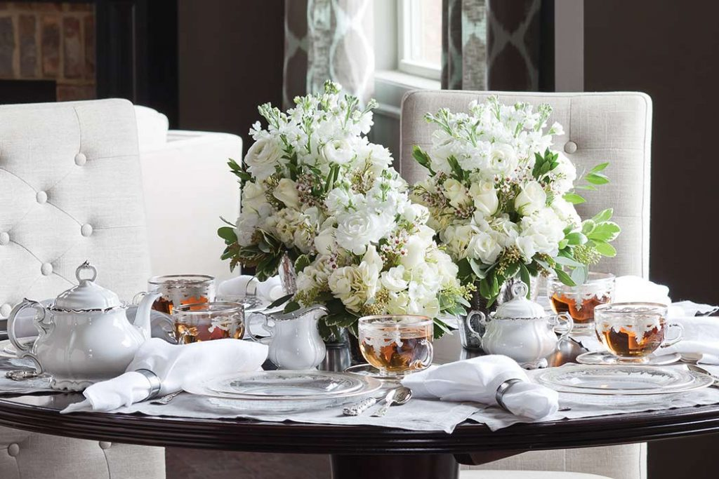 The Complete Table: Silver & White