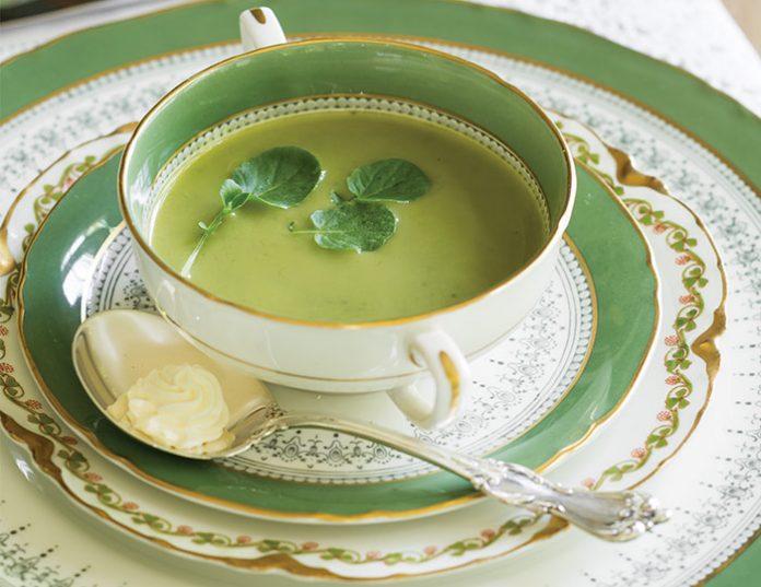 Watercress & Pea Soup