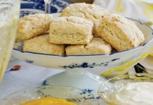 Lemon-Walnut Scones