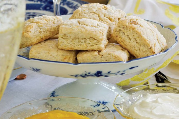 Lemon-Walnut Scones