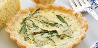 Asparagus-Dill Quiches